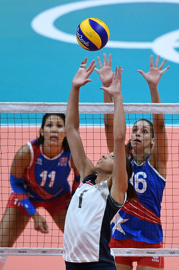DAY 1: Women's Volleyball - USA vs Puerto Rico