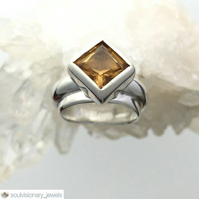 #RepostingWithPurpose #GiftedCorners2015 #GiftedCorners #GiftedCornersVendor #OneCommunity #StrongerTogether  Vendor #EzRepost @soulvisionary_jewels with @ezrepostapp  Handmade with Love!  Another SoulVisionary 'Heart Song': 2 carat Citrine set in a solid and heavy weight Sterling Silver ring...  UK size K - 12 grams Sterling Silver- no filters #inspiredatflux by bespokehairstyles