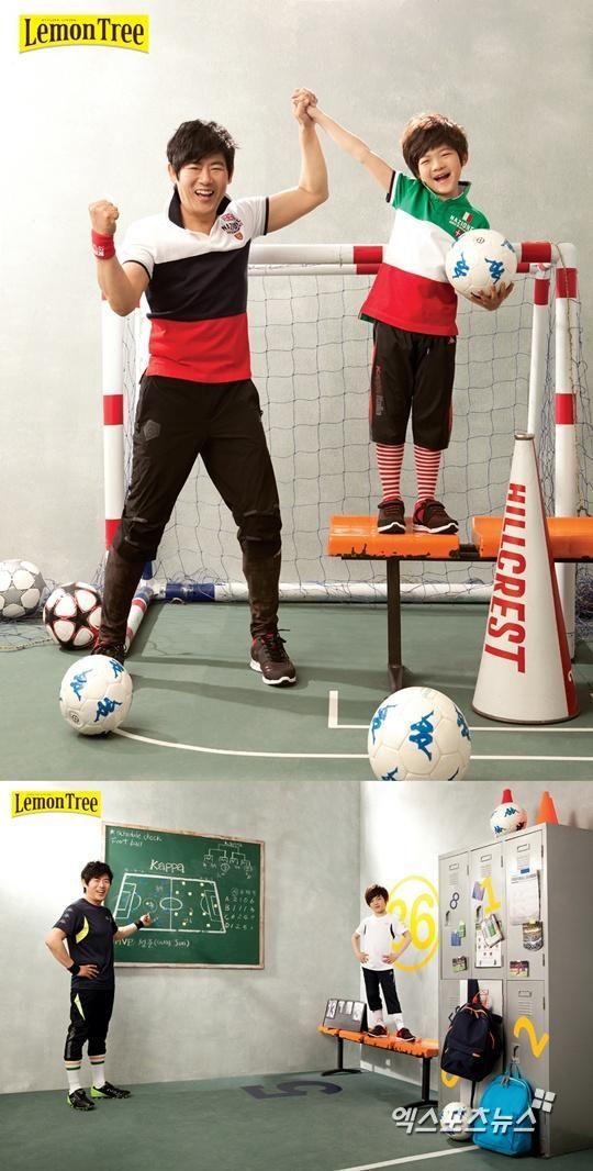 Sung Dong Il & Sung Joon Photoshoot - Lemon Tree magazine