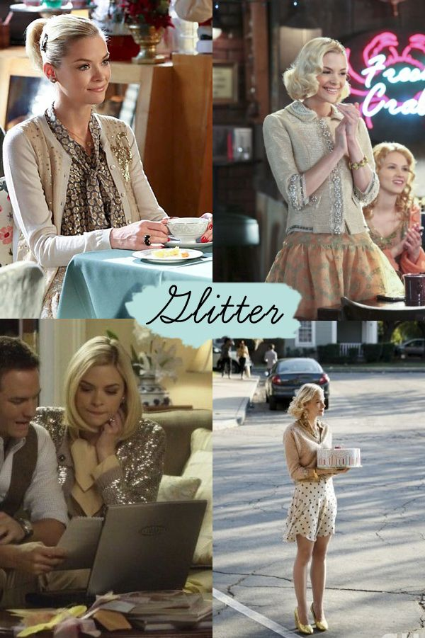 Jaime King as Lemon Breeland on Hart of Dixie
