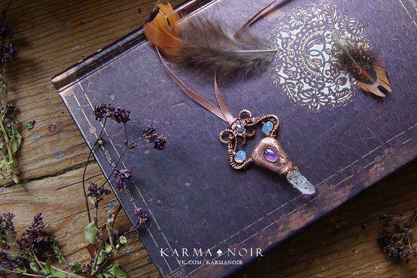 #бохо #gipsy #bohochic #darkboho #witch #witchy #fantasy #handmade   K A R M A ♠ N O I R | украшения ручной работы