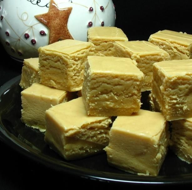 Fantasy Fudge (Peanut Butter Fudge) from Food.com:   This recipe is from the mother of a student, and it is the BEST peanut butter fudge I have ever had.  I usually use real butter and not margarine when I cook, so I will substitute the margarine in this recipe.  From what I have tasted, however, it is still delicious when made with margarine.