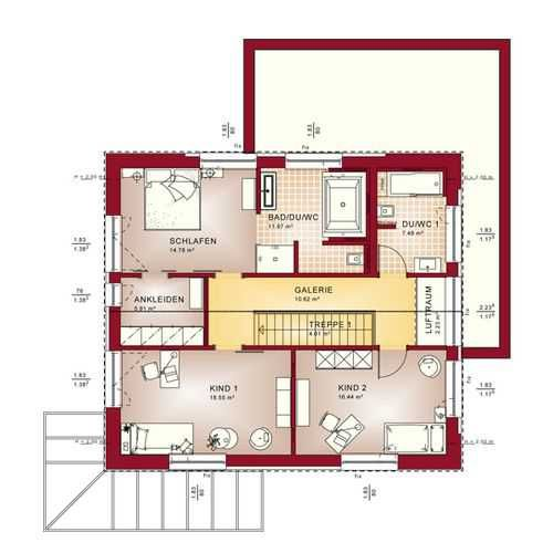 86 best Haus images on Pinterest Architecture, Floor plans and - badezimmer a plan