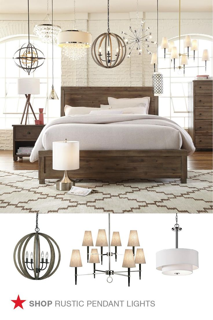 Give Your Home A Cozy Cabin Vibe With Rustic Light Fixtures Decor And More