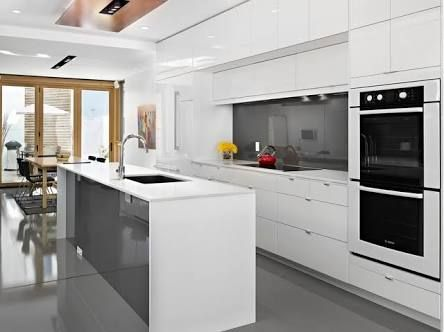 white kitchens modern contempory - Google Search