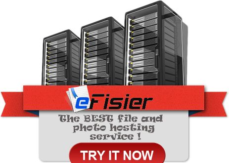 The BEST file and photo hosting service ! ‪#‎best‬ ‪#‎free‬ ‪#‎file‬ ‪#‎photo‬ ‪#‎hosting‬ ‪#‎service‬ http://facebook.com/efisier www.efisier.eu