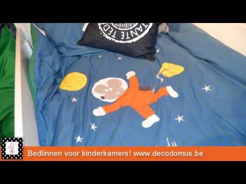 Bedlinnen voor kinderslaapkamers, babykamers en tienerkamers.