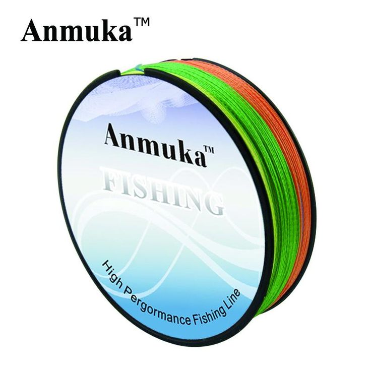 [Visit to Buy] Anmuka Fishing Line Multifilament 100M Super Strong PE Braided Fishing Line 4 Strands Linha De Pesca Fishing Tackle Fishing Tool #Advertisement