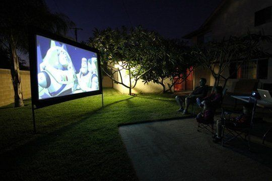 Как сделать домашний кинотеатр на своем участке — Апронто — Челябинск