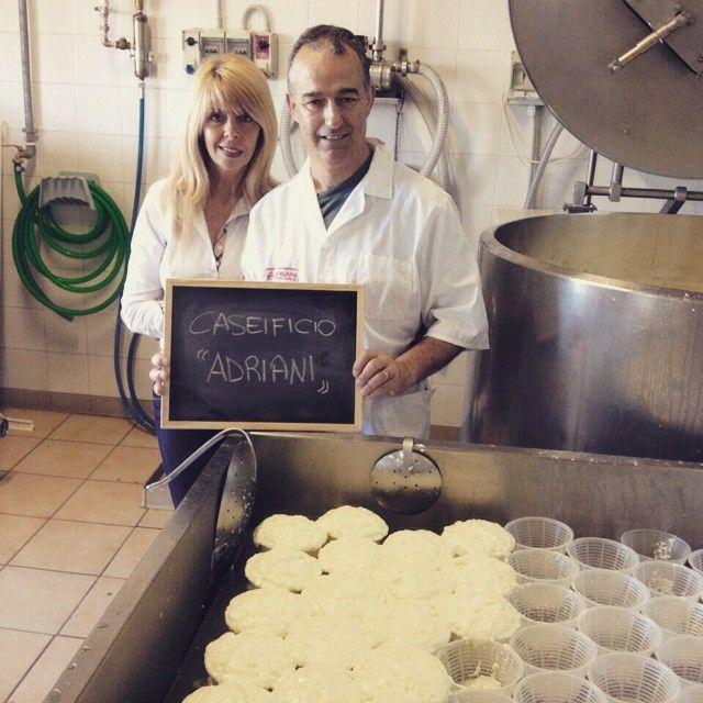 Il Caseificio Adriani, tra i produttori di formaggi di Squicity