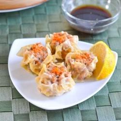 Steamed pork and shrimp dumplings. | Break out the Chopsticks | Pinte ...