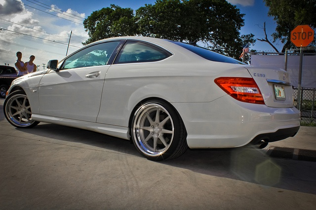 """2012 Mercedes C250 Nessen Forged S8.0 19"""" Lowered H Springs by Autoglitz, via Flickr"""