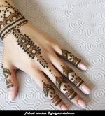 The  mehndi design is very unique and trendy. This would be the modern accessory if you have to attend an event as a friend/ bridesmaid. More @ http://girlypictorials.com/