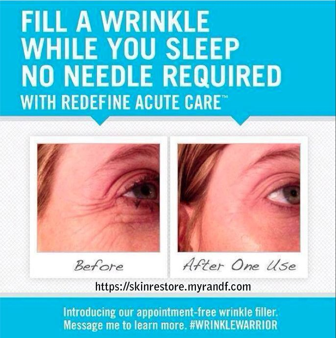 R+F's new overnight wrinkle filler