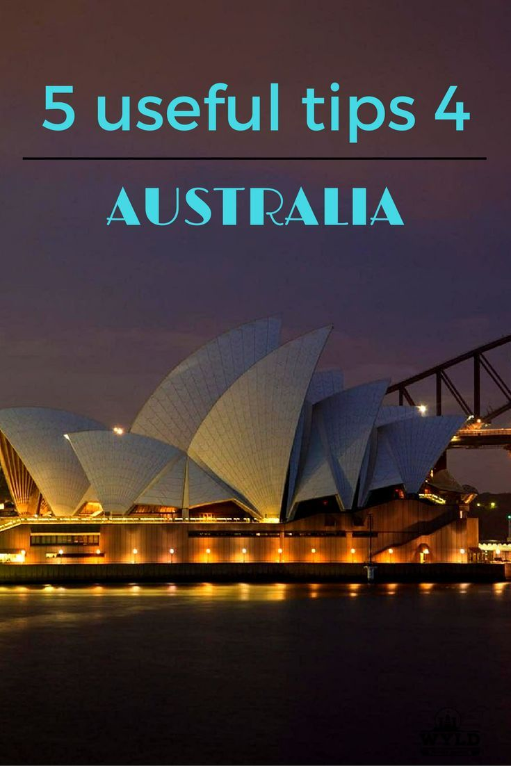 5 handy and useful tips for Australia. From emergancy numbers to customs declarations. Know these things before visiting Australia