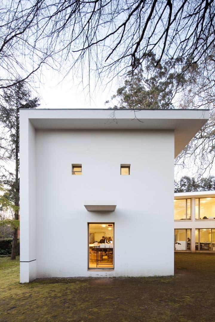 ÁLVARO SIZA Carlos Ramos Pavilion Architecture school building renovated by Álvaro Siza.
