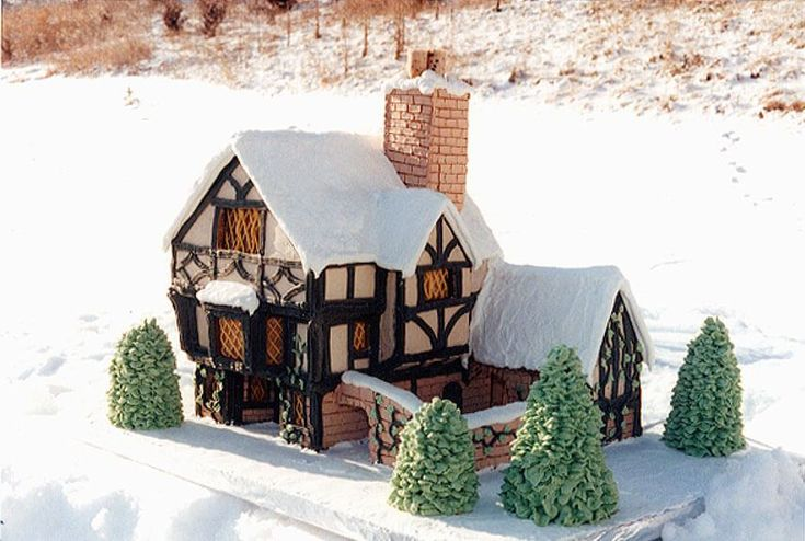 """One of my favourite Holiday traditions is making a gingerbread house. These destroy any attempt I have ever created. Here are the """"BEST OF THE BEST"""" gingerbread houses we have seen fl…"""