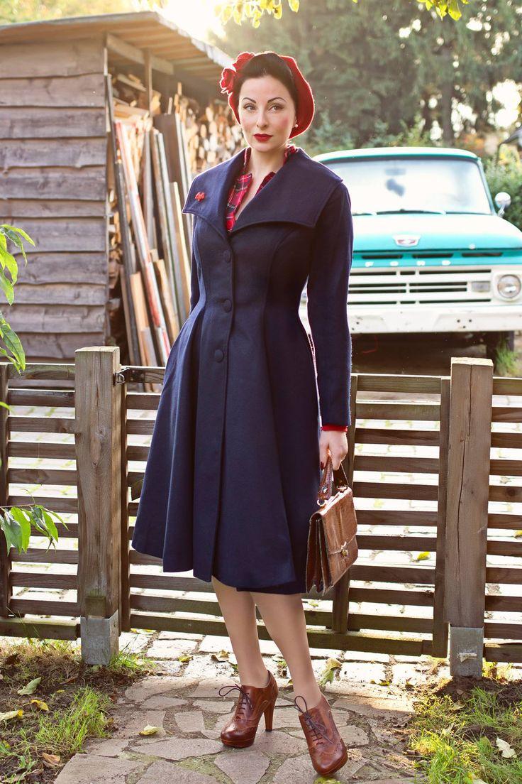 164 best midi coat images on vintage style