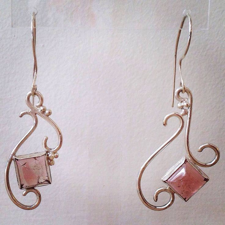 A personal favorite from my Etsy shop https://www.etsy.com/listing/216451806/silver-earring-with-tourmaline-stone