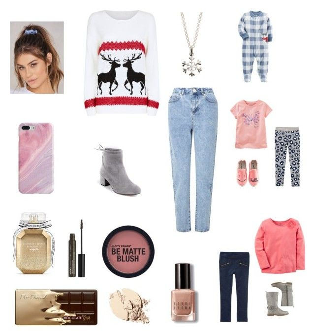 """""""Going to the farm with the kids"""" by bellzellz ❤ liked on Polyvore featuring Mela Loves London, Miss Selfridge, NA-KD, Recover, Lily Charmed, Victoria's Secret, Too Faced Cosmetics, NYX, Bobbi Brown Cosmetics and Carter's"""
