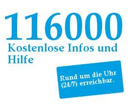 Die  Hotline  für vermisste Kinder ist  rund um die Uhr und zum Nulltarif aus ganz Deutschland,  sowohl vom Fest- als auch vom Mobilfunknetz zu erreichen. Auch der Anruf aus Telefonzellen ist kostenfrei möglich.