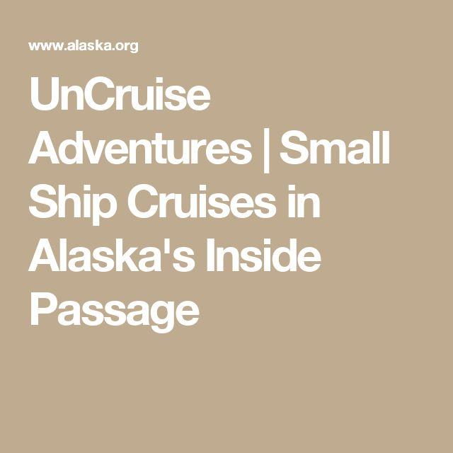 UnCruise Adventures | Small Ship Cruises in Alaska's Inside Passage