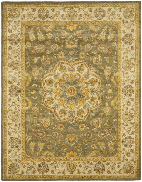 HG954A, Green, Hand Tufted, Safavieh Clearance available from rugsdoneright.com