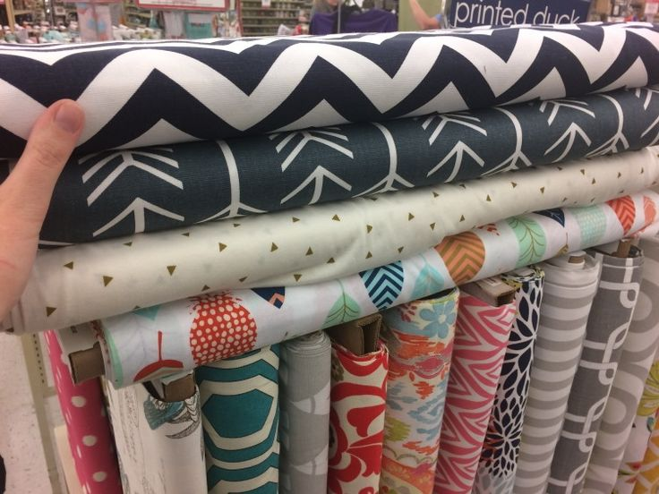 Best thing to buy is fabric.