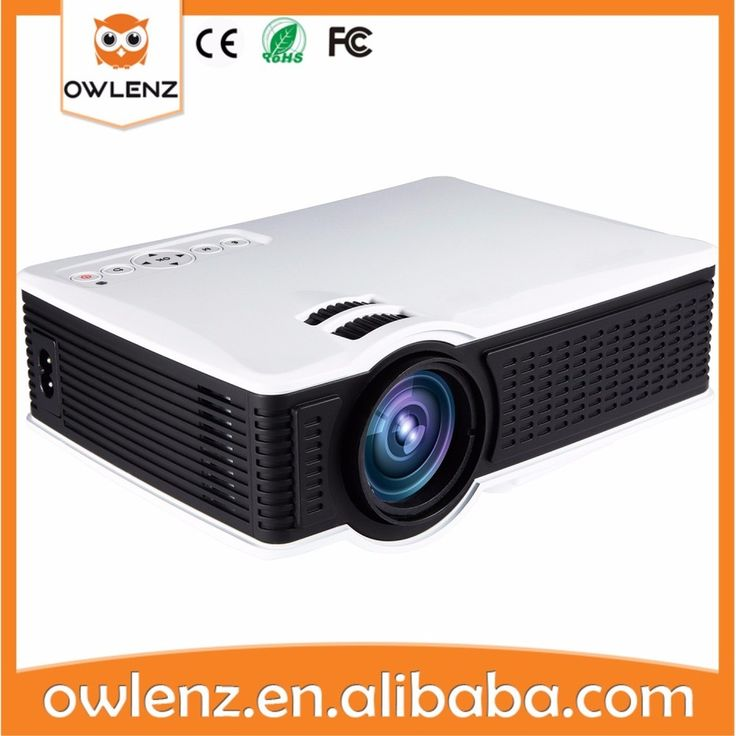 Owlenz SD60 Wireless WIFI Mini Portable LED Video Home Cinema Projector Support Miracast DLNA Airplay better than UC46 & SD50