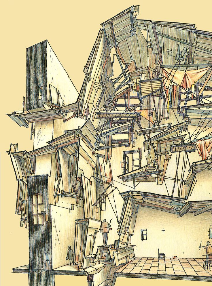 Afficher l 39 image d 39 origine lebbeus woods pinterest for Origine architecture