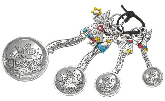 Ganz Angel Measuring Spoons with Colored Enamel $18.95