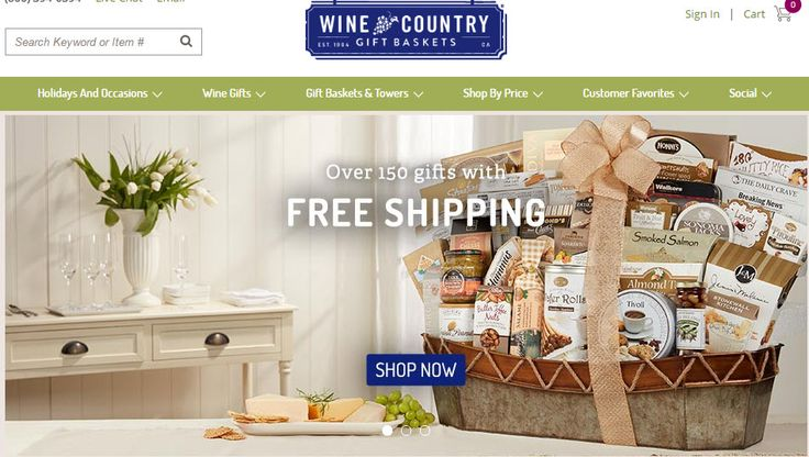 Wine Country Gift Baskets offers a great selection online of value-priced, handcrafted gift baskets & gift towers, including corporate gift baskets, business gift baskets, anniversary gift baskets, birthday gift baskets, gourmet gift baskets, chocolate gift baskets, holiday gift baskets, fruit baskets, coffee gift baskets & tea gift baskets.