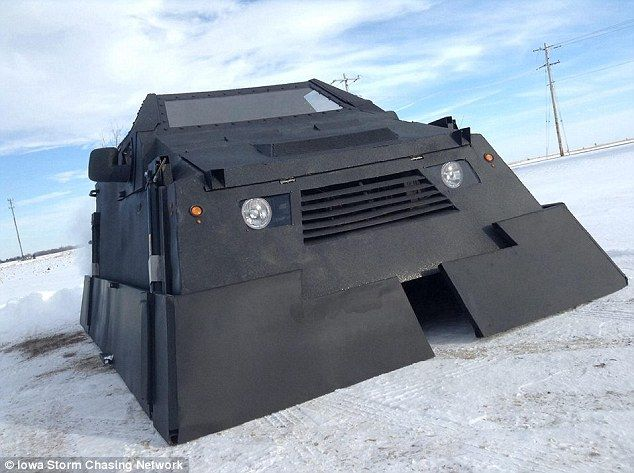 cars named dorothy | Tornado chasers build armored car named 'Dorothy' they hope will allow ...