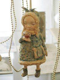 Елочные игрушки и фигурки из папье-маше от Натальи Доманцевич. Лавка теддиста.Авторские мишки Тедди.