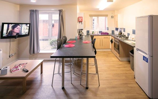 A view into the shared kitchens within our student accommodation, available to book now for 2017