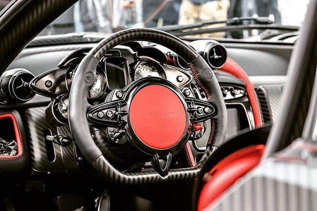 ~ Pagani Interior ~ (Instagram Credit: @noah_nation)