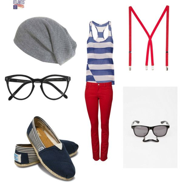 Those glasses with the moustache attached have to be the best thing I have ever seen! Louis outfit!