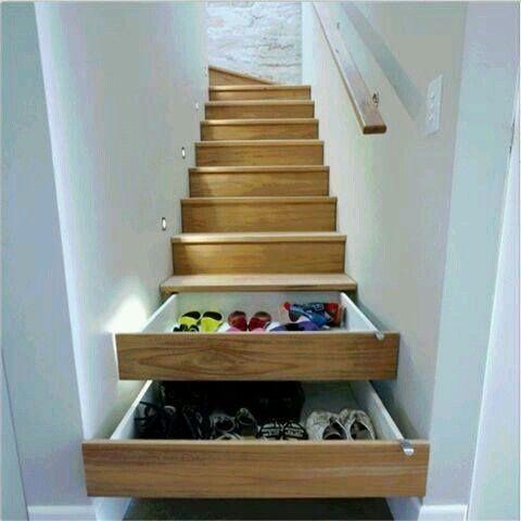 Çekmeceli merdiven