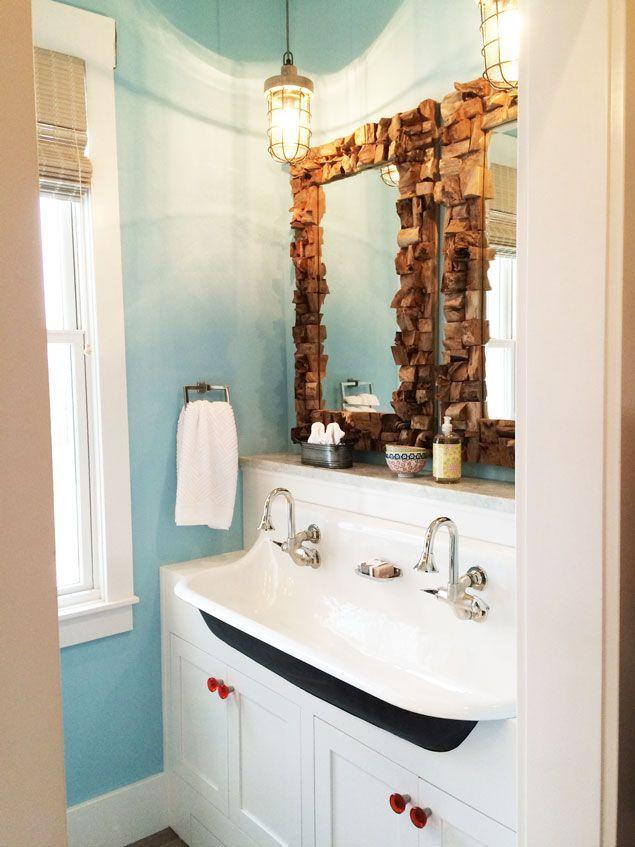 Things We Love Cast Iron Sinks In The Bathroom Design Chic Kohler Brockway Sink Kohler Brockway Kohler Bathroom Sink