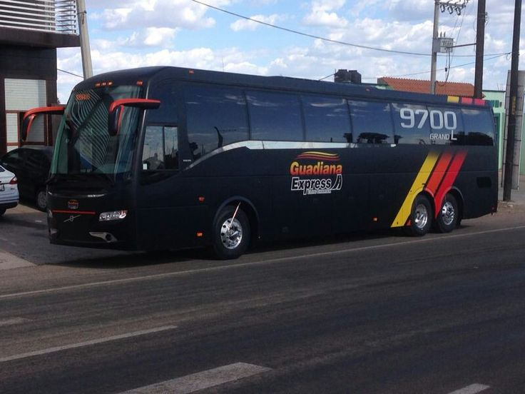 Matte Black Volvo 9700 Bus .Chicago   guadiana express   Pinterest   Volvo, Buses and Black