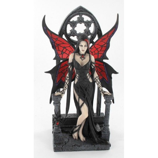 Aracnafaria - Figurine fée gothique - Anne Stokes