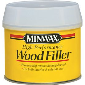 Minwax 12 Oz High Performance Wood Filler Repair Rotted