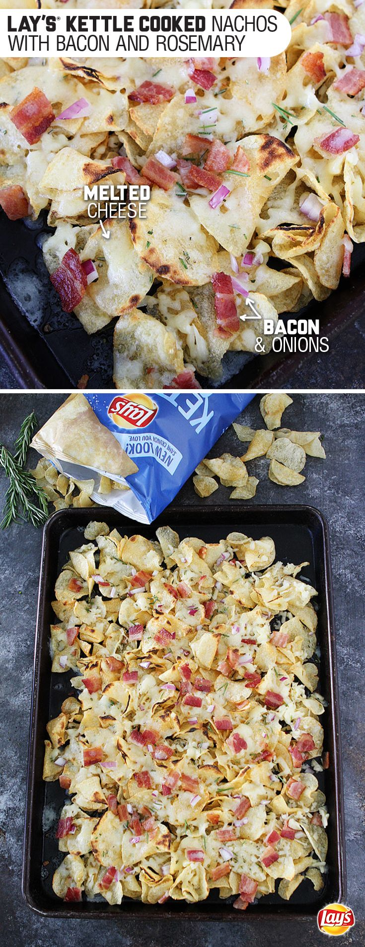 Sponsored by Frito-Lay l Crunchy, savory and simply delicious, Lay's Kettle Chip Nachos are a fuss-free way to up your game for the holidays. Whip these together for a plate full of flavors your favorite people will love. #mingleinabox