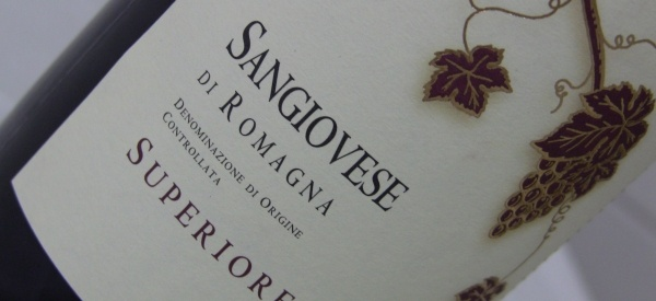 """Sangiovese di Romagna - make sure it says """"superiore"""" on the label as a start"""