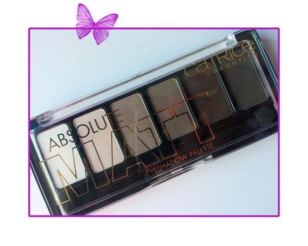 review - catrice absolute matt eyeshadow palette