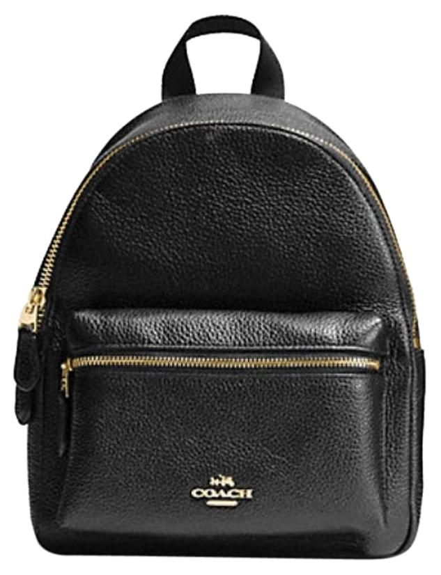Coach Mini Charlie In Pebble Leather 38263 Nwt Backpack. Get one of the hottest styles of the season! The Coach Mini Charlie In Pebble Leather 38263 Nwt Backpack is a top 10 member favorite on Tradesy. Save on yours before they're sold out!