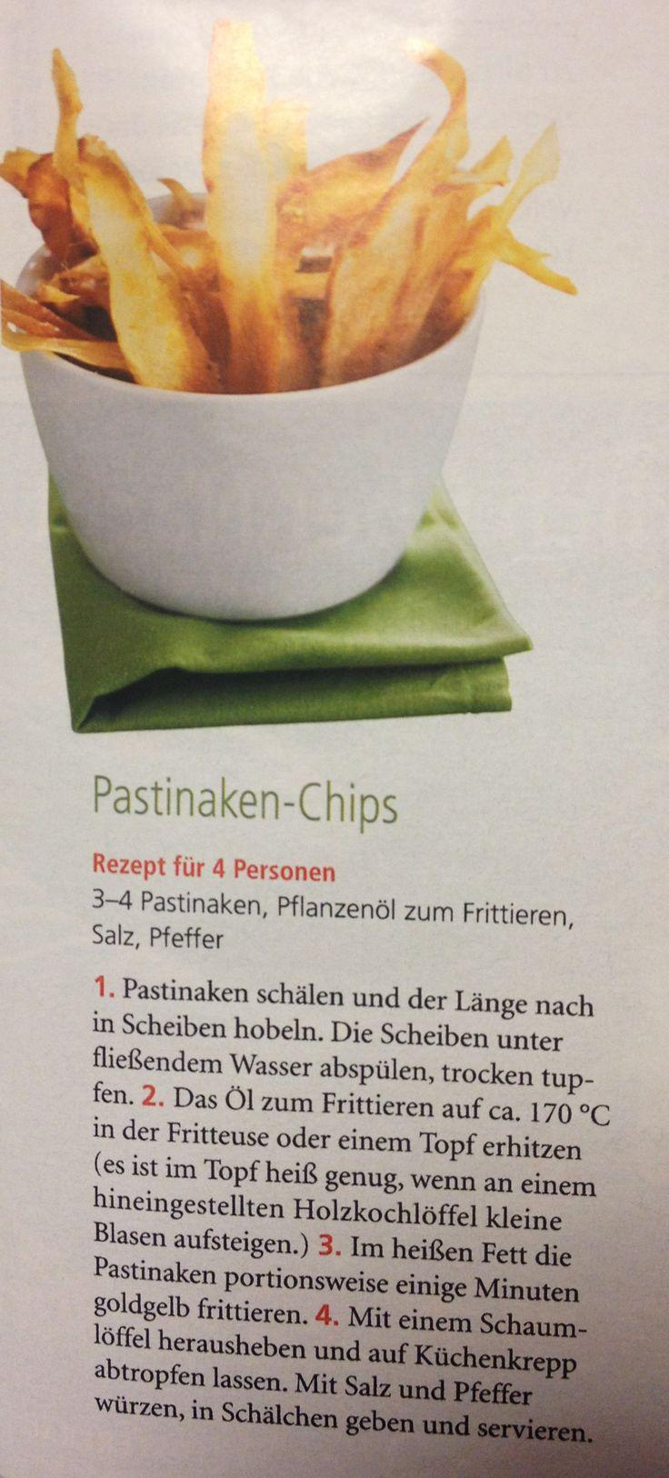 Great Pastinaken Chips aus der Zeitschrift Mein sch ner Garten