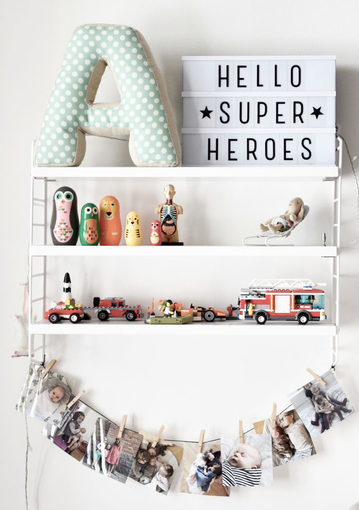 Superheroes and memories | #jollyroom