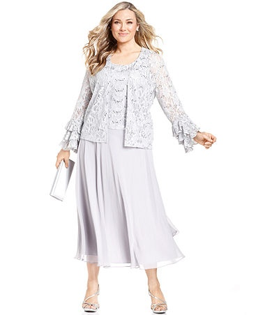 The Mother Of Bride Dresses Tea Length Jacket With Macys Fashion