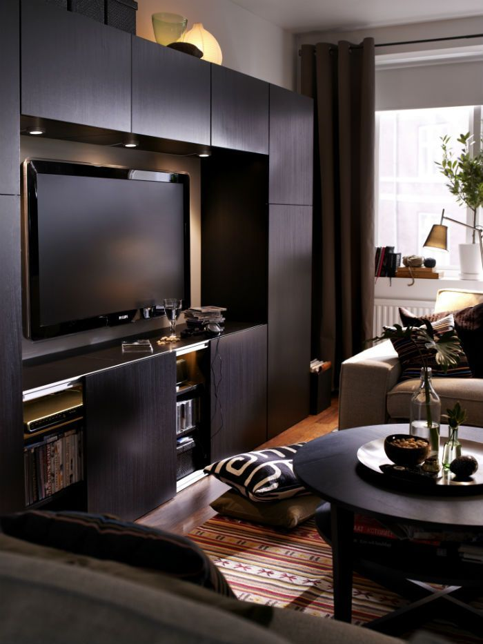 25 best ideas about ikea entertainment center on for Man cave living room ideas
